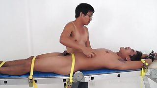 Asian Boy Jesse Tied and Tickled