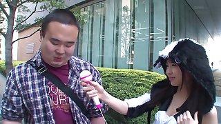 Fantastic cock pleasing moments with adorable Yura Sakura