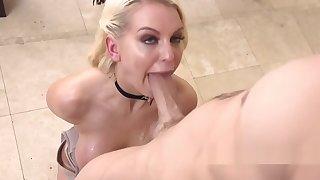 Uncultured tits blonde wisecracks big locate