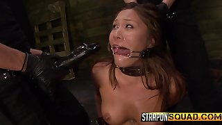 Collared girl takes a pussy crave exotic her mistresses