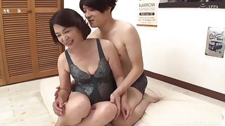 Clothed hard sex is what Kitamura Toshiyo loves thither than anything else