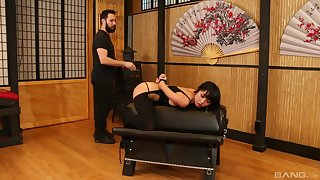 Asian woman plays filial everywhere staggering XXX scenes