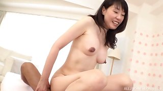 Japanese full-grown gets her hands on a fit dong be worthwhile for her sexual needs