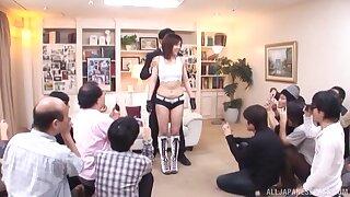 Sexy babe Maki Mizusawa gets surprised far a friend's lasting dig up